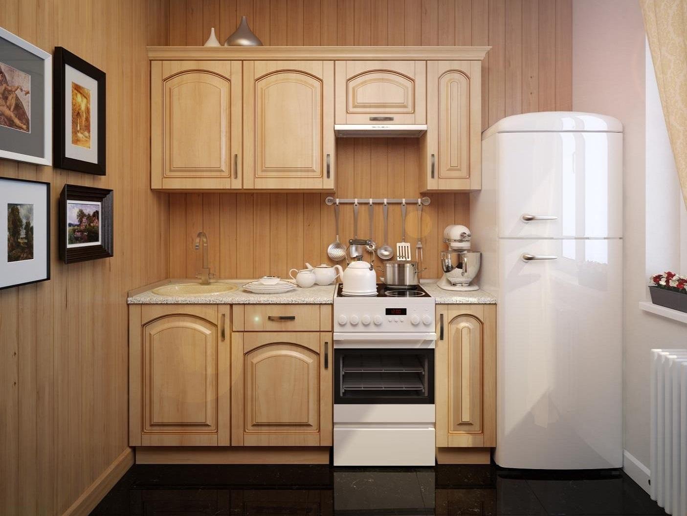 Кухня малого размера дизайн