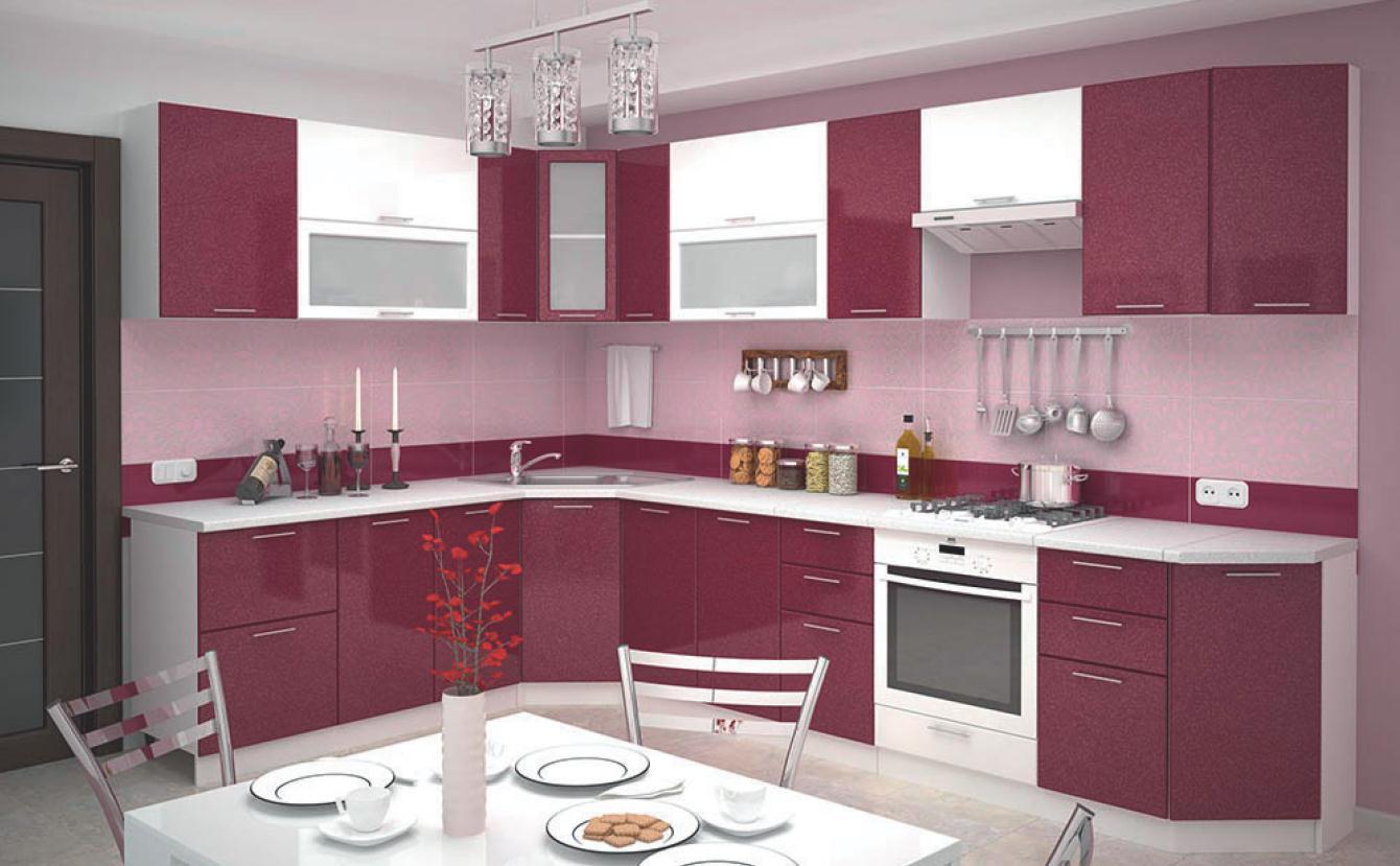 Фото различные модели угловых кухонь изготовление декораций