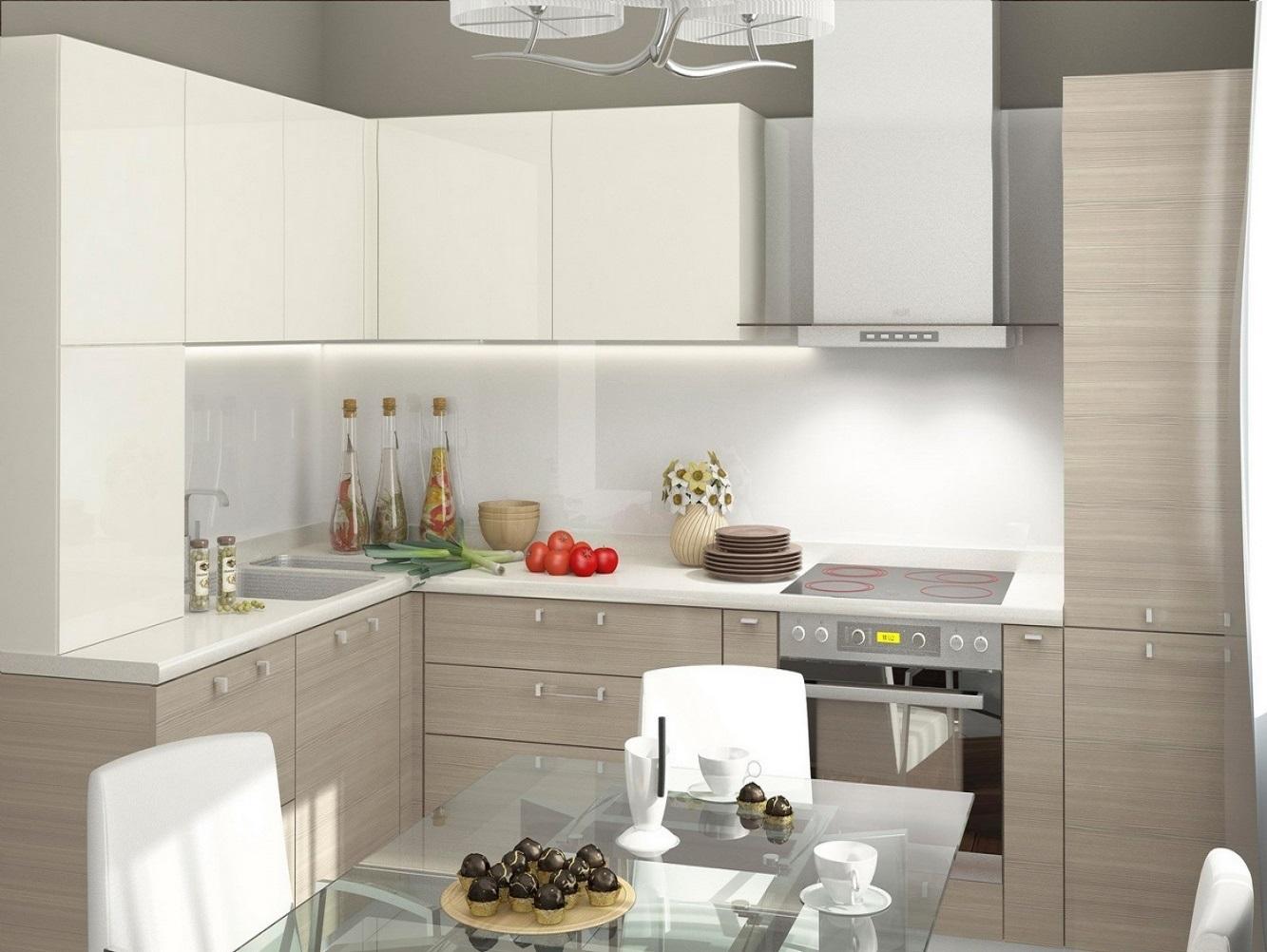 угловые кухни в светлых тонах фото обладающий особым